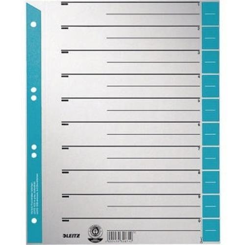 Leitz Trennblatt 16520030 DIN A4 230g Karton hellblau