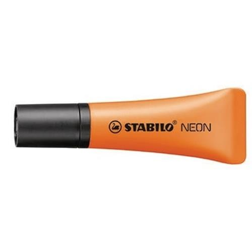 STABILO Textmarker NEON 72/54 1-5mm Keilspitze orange
