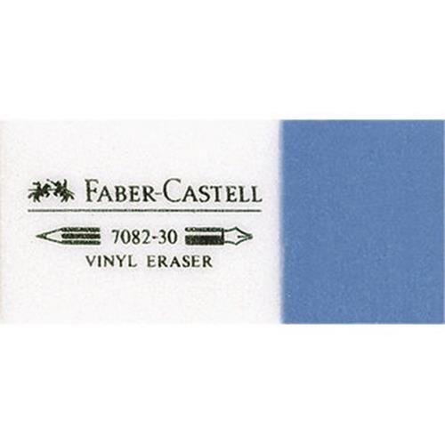 Faber-Castell Radierer KOMBI 7082-30 188230 18x12x41mm weiß/blau